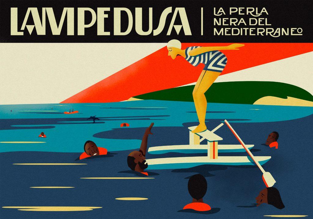 Lampedusa la perla nera del Mediterraneo
