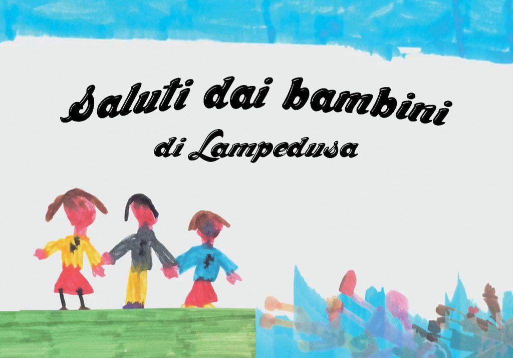 Saluti dai bambini di Lampedusa