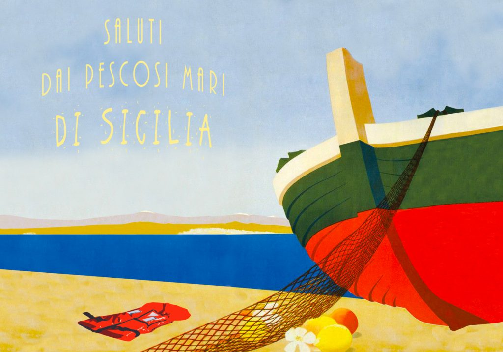 Saluti dai pescosi mari della Sicilia