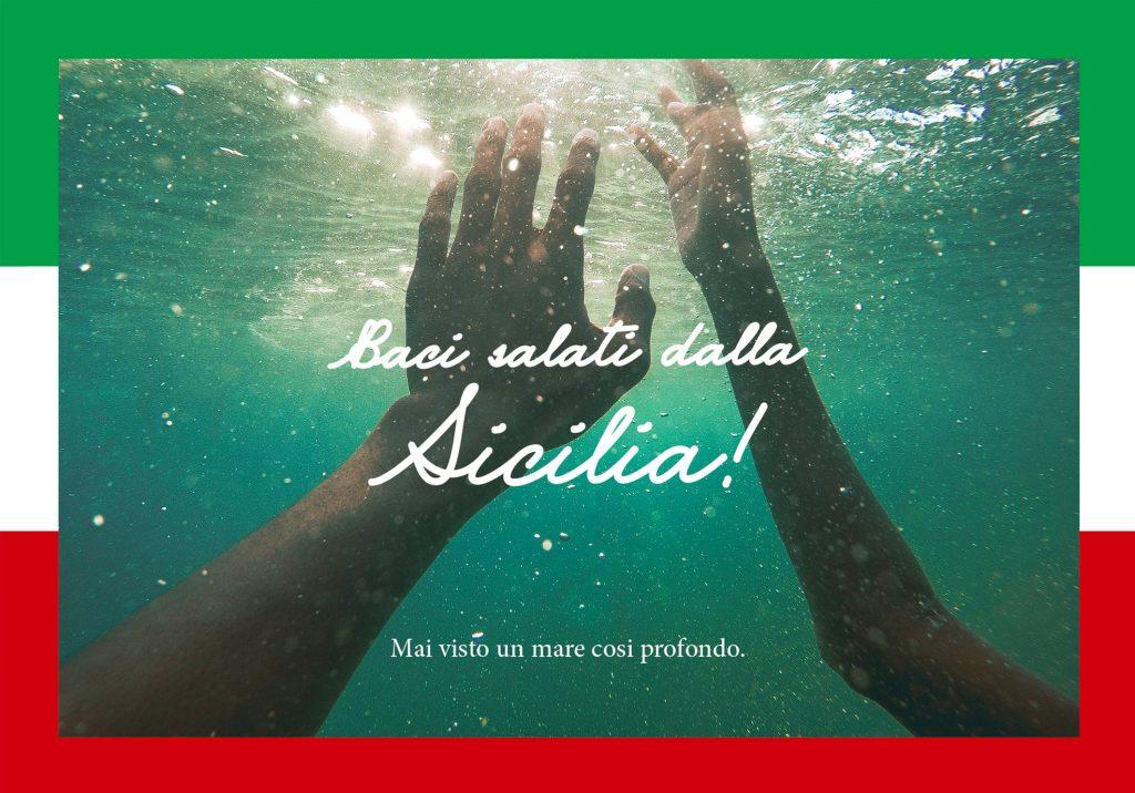 Baci salati dall'Italia