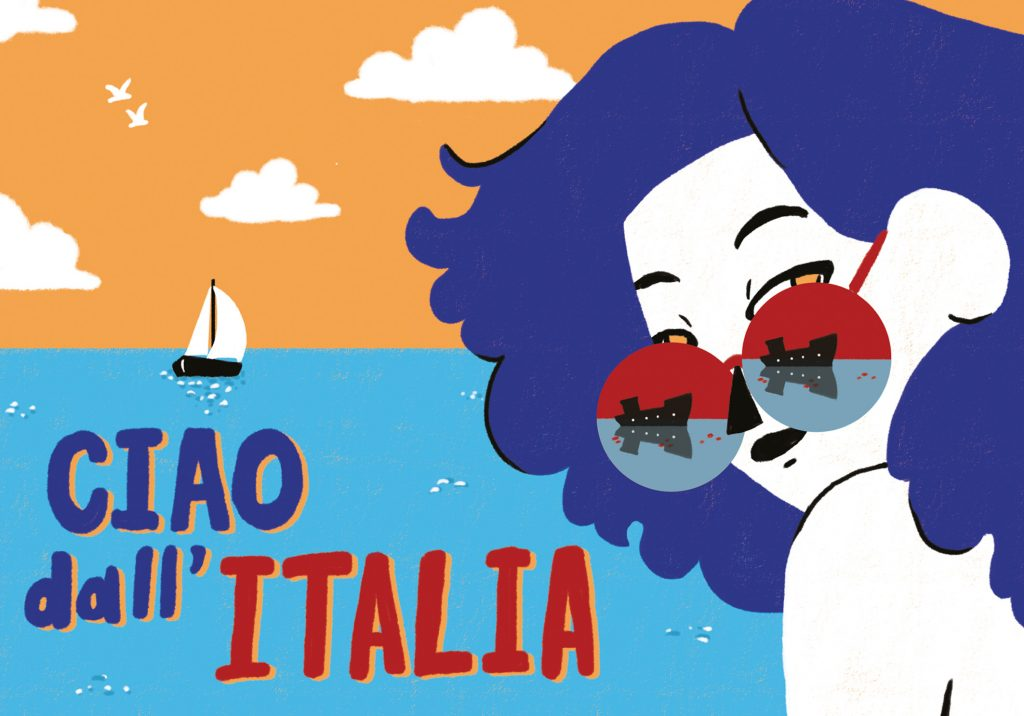 Ciao dall'Italia