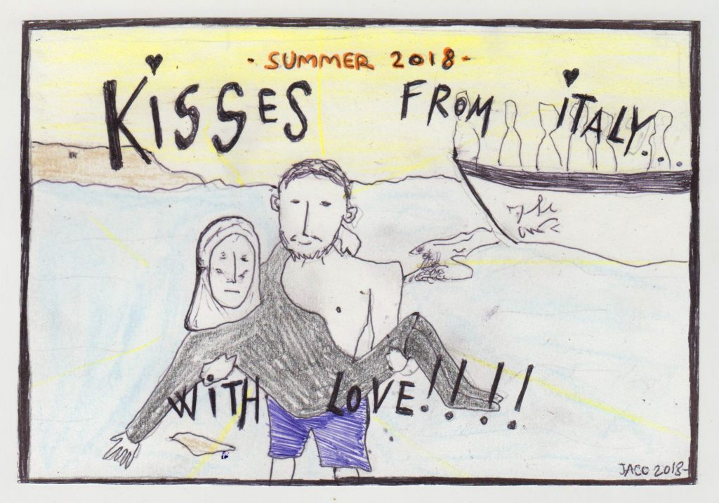 Kisses from italy