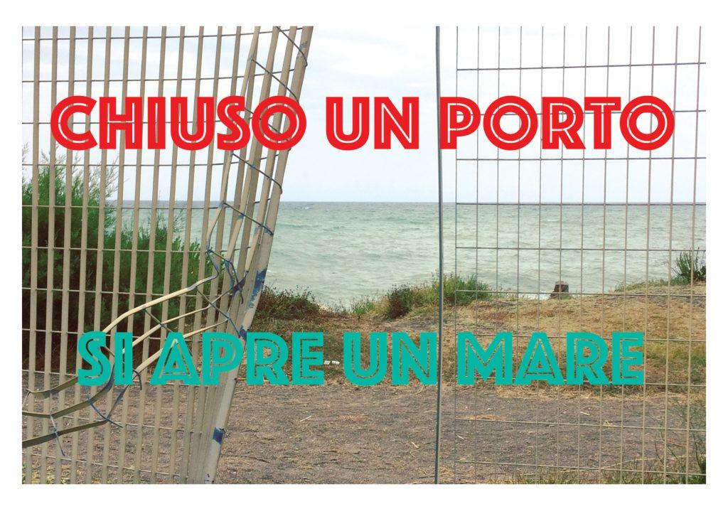 Chiuso un porto si apre un mare