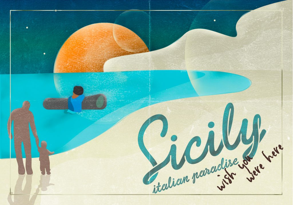 Sicily, Italian paradise. Wish you were here.