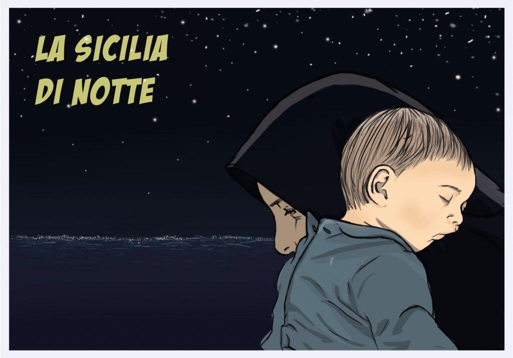 La Sicilia di notte