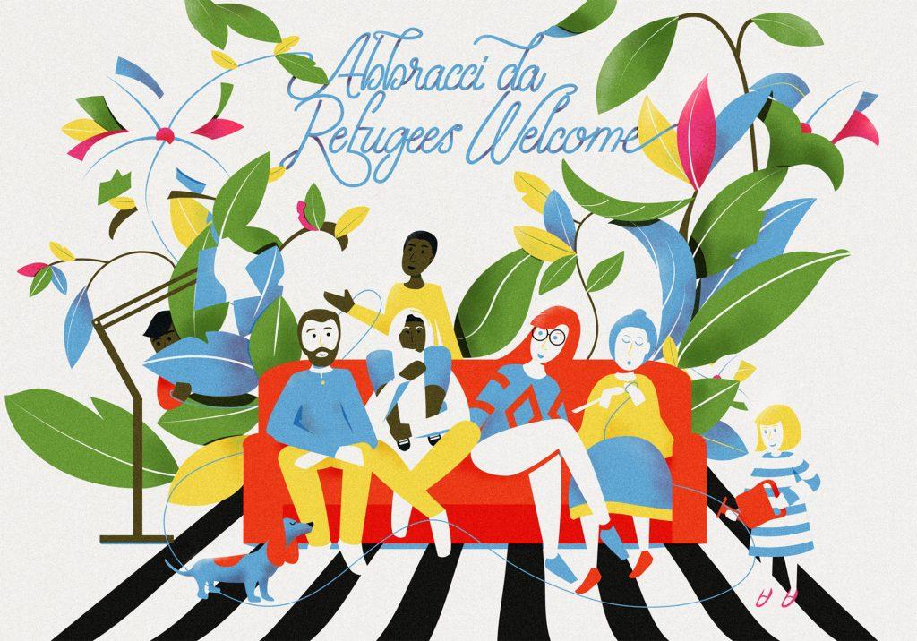 Abbracci da Refugees Welcome